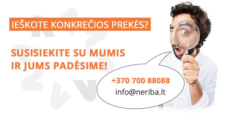 Susisiekite su mumis!